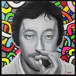 Gainsbourg pop art